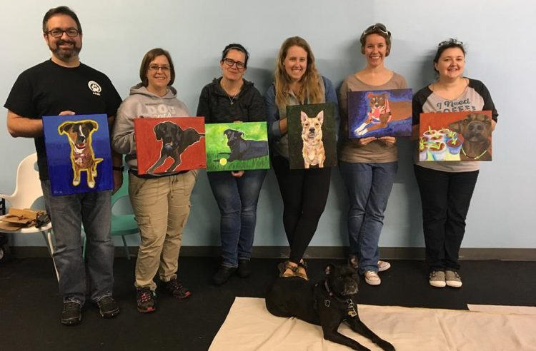 Paint Your Pet Party - Cary NC